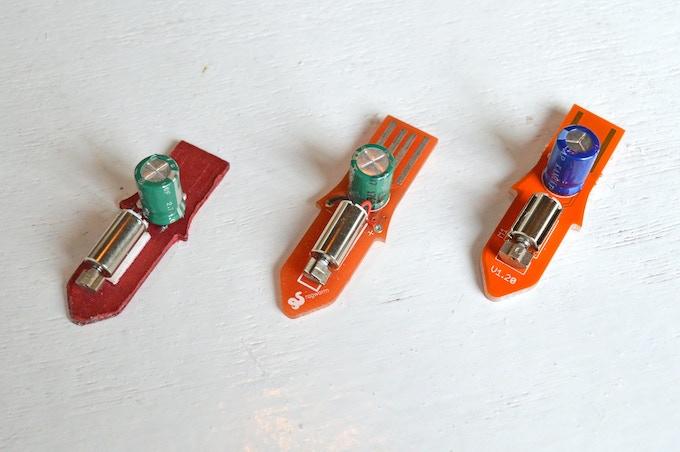 Fizzbit prototype evolution