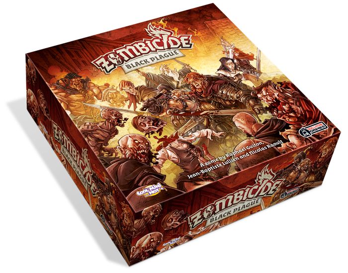 The ultimate zombie boardgame, reinvented in a medieval fantasy setting! New survivors, new zombies, new equipment, and revamped rules!