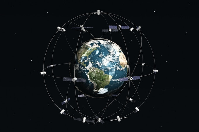 Satellite's Broadcasting back to earth