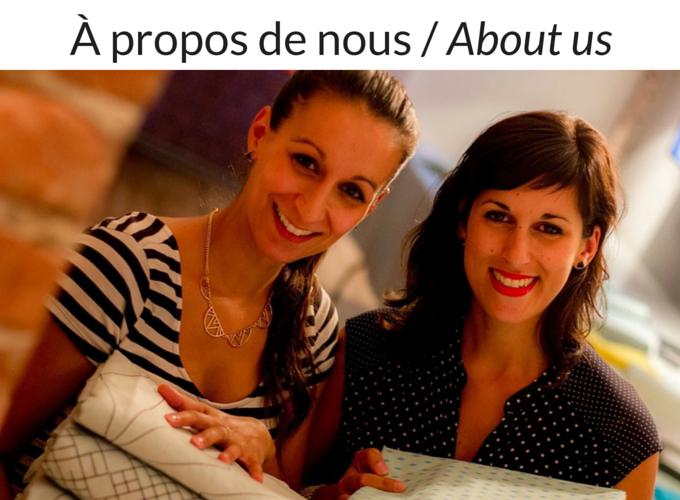 Laurence et Marie-Andrée Mackrous