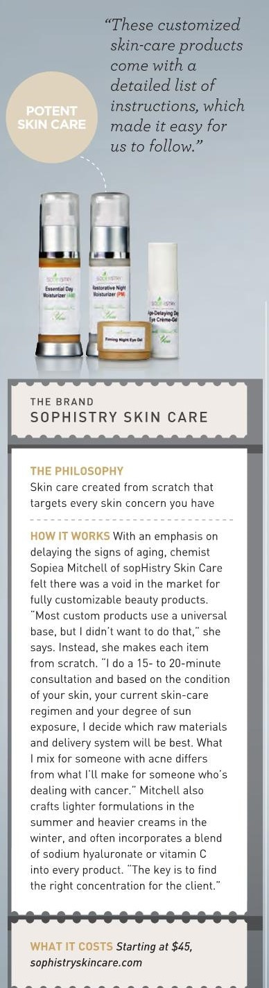 Featured in New Beauty