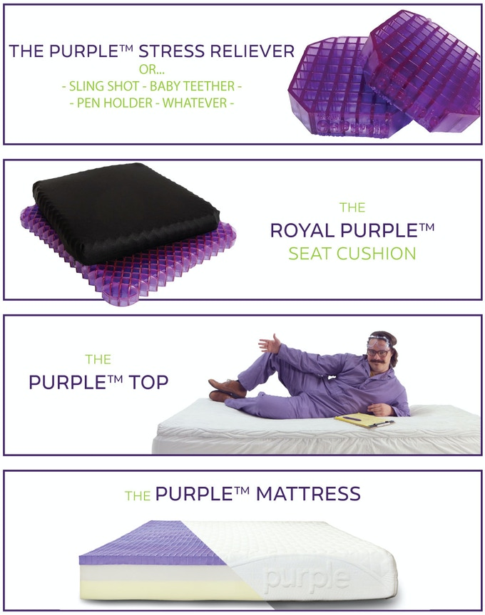Purple The Latest Technology In Comfort And Sleep By Tony Pearce
