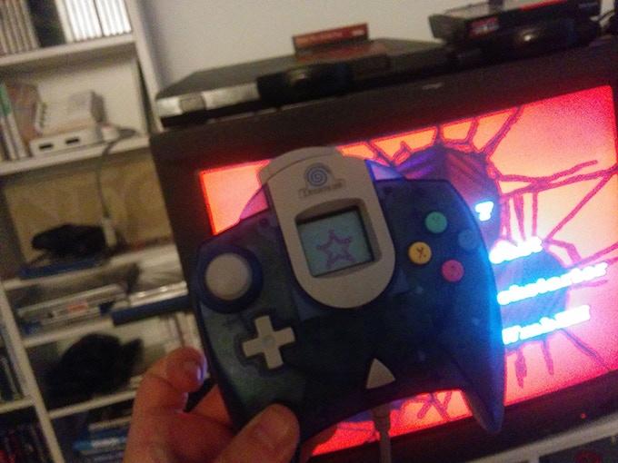 Running on the Sega Dreamcast's VMU