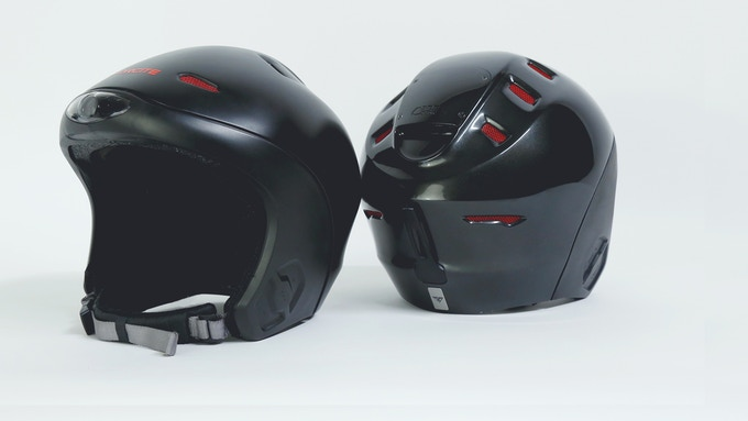 Helmet prototypes