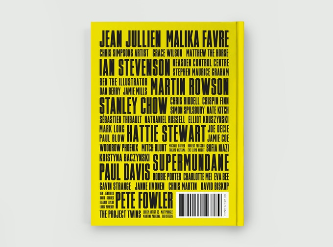 Yellow Back Cover