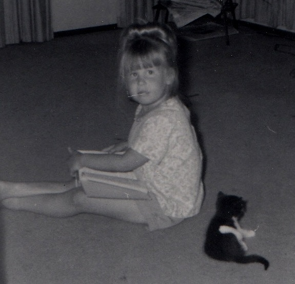 Young Kristi, Co-Owner of Climb-It Cat