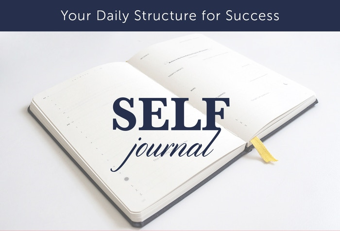self journal your daily structure for success by best self co
