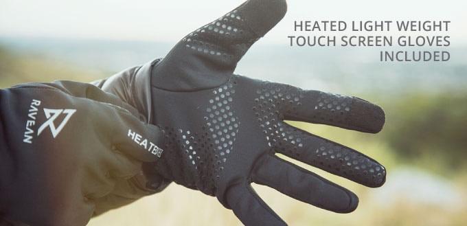 Ravean Heated Gloves Ready For Anywhere!