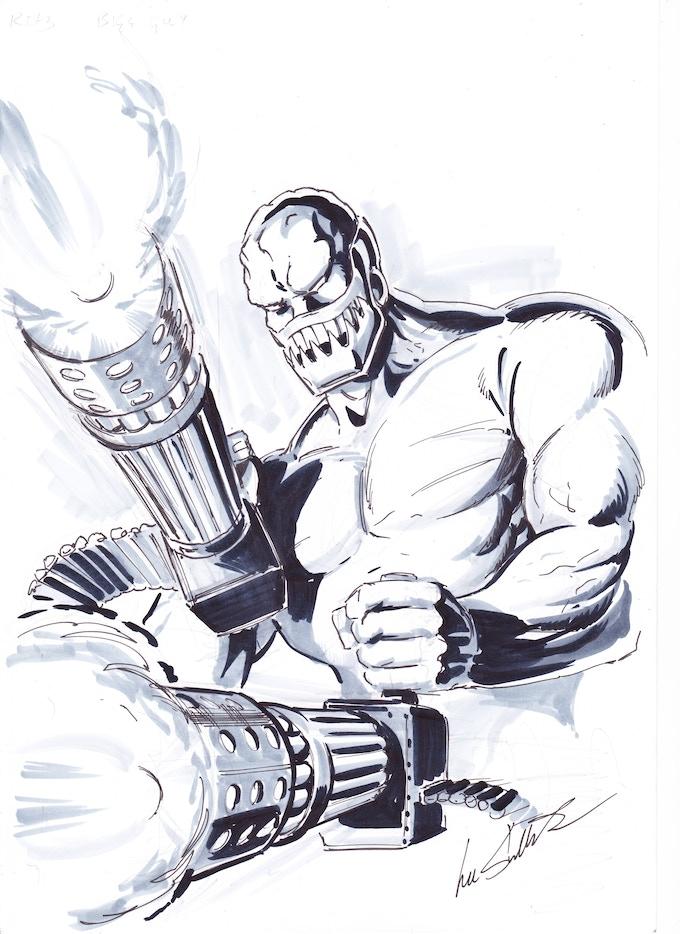 Stryker Concept Sketch by Lee Sulivan