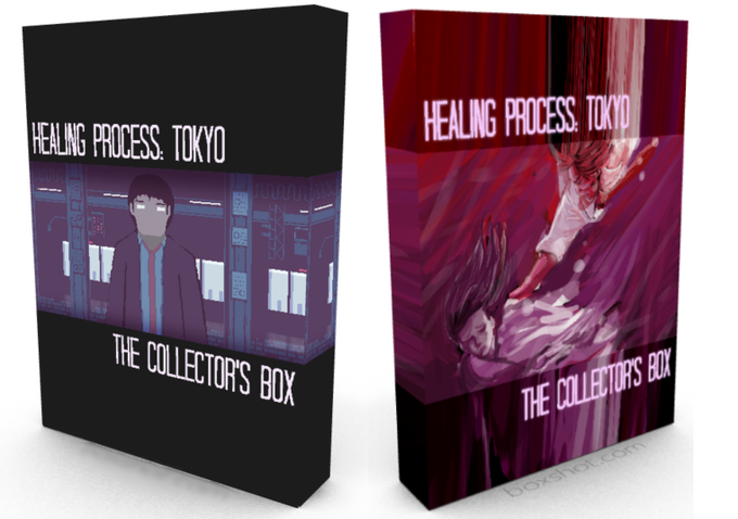 There will be a vote upon funding to decide the design for the box, there will be several possible covers to choose from.