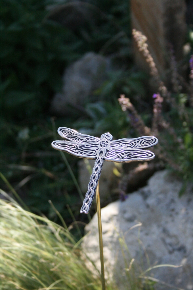 Garden Dragonfly - It's good luck!  (maybe...)