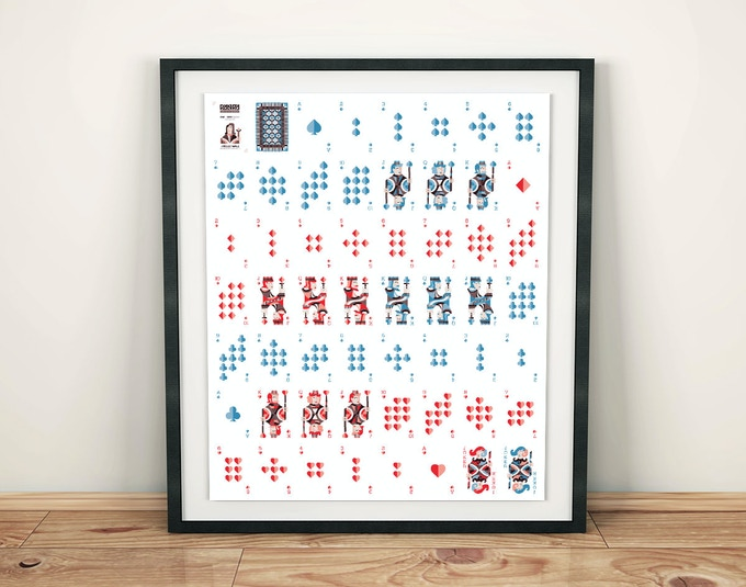 Uncut sheet - available in the $54 reward tier.