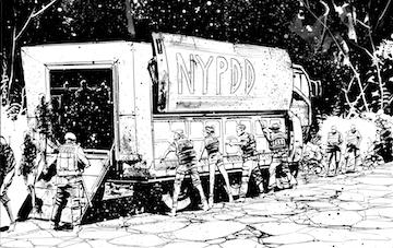 Nypdd new york police dead division comic book by mike barrett kickstarter - Div checker tool ...
