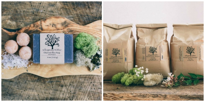 Whispering Willow // Reward Offers: Natural Soap & Laundry Detergent