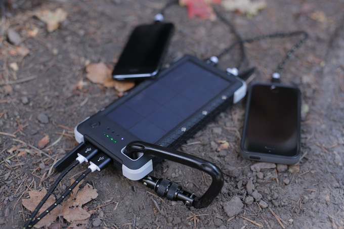 USB Charging for up to 4 devices at once