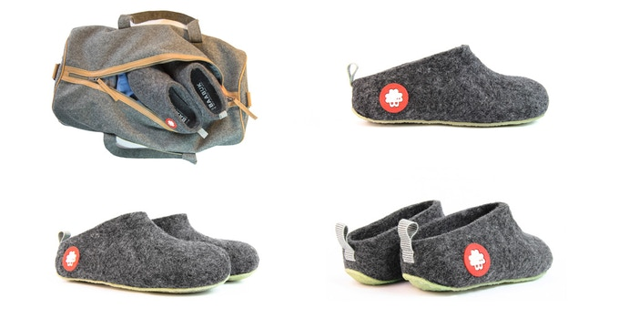 Baabuk Slippers (Made in Nepal, from our first KS campaign)