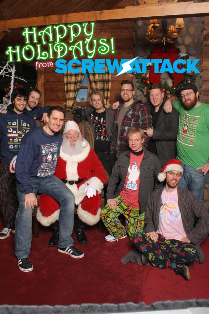 The guys at Screwattack.com enjoying their Retro Review sweaters and shirts last year! As a longtime fan of their website it was an honour to see this. Thanks again for the support guys!