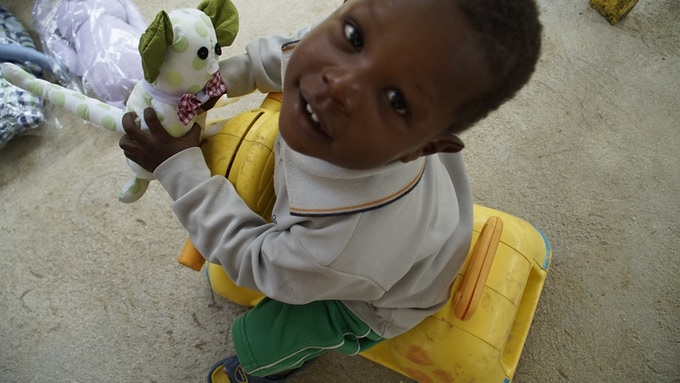 Little Arthur, Haiti,  April 2014 ©Smile2Smile