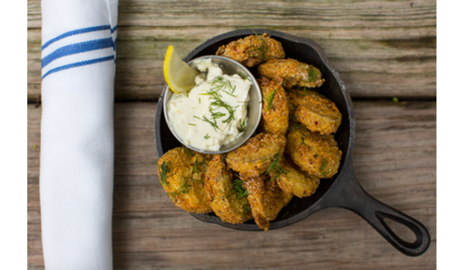 Pickle Shack's fried pickles