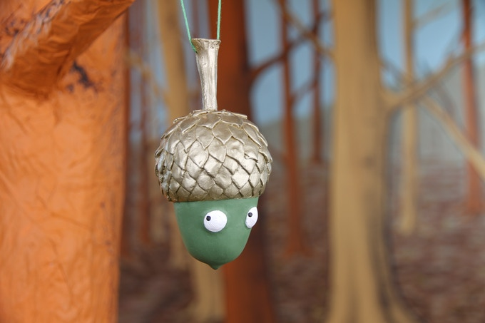 Hang out with Mr Acorn! Special LIMITED EDITION hand-painted decoration