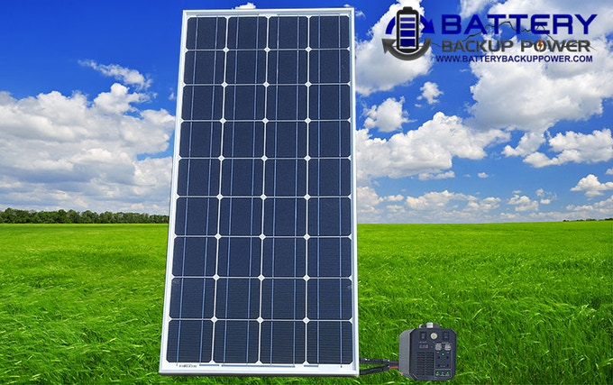 Complete Solar Power/Recharge Kit