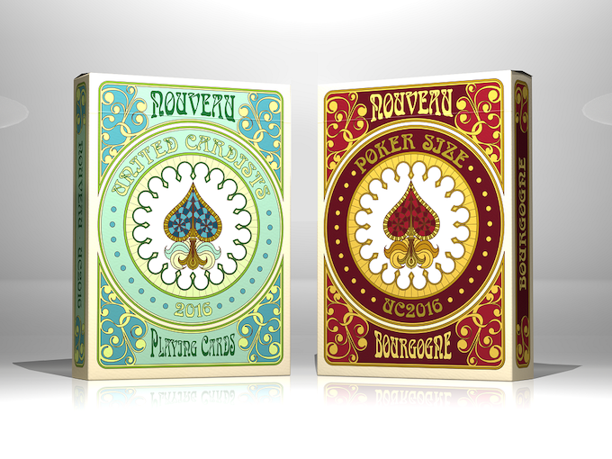 NOUVEAU & NOUVEAU BOURGOGNE (scroll down to stretch goals to see more on BOURGOGNE deck)