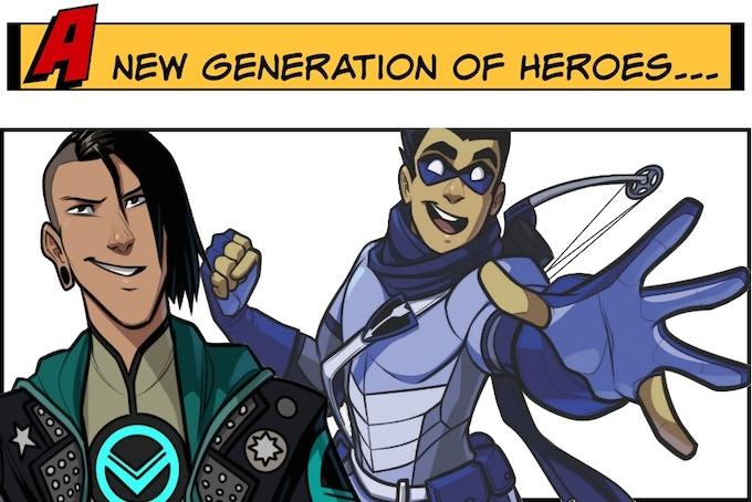 Masks: A New Generation by Brendan G  Conway — Kickstarter