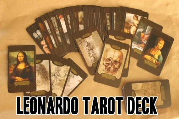 The Leonardo Da Vinci Tarot Deck has sold many times online on Etsy as well as many times in person and at conventions.