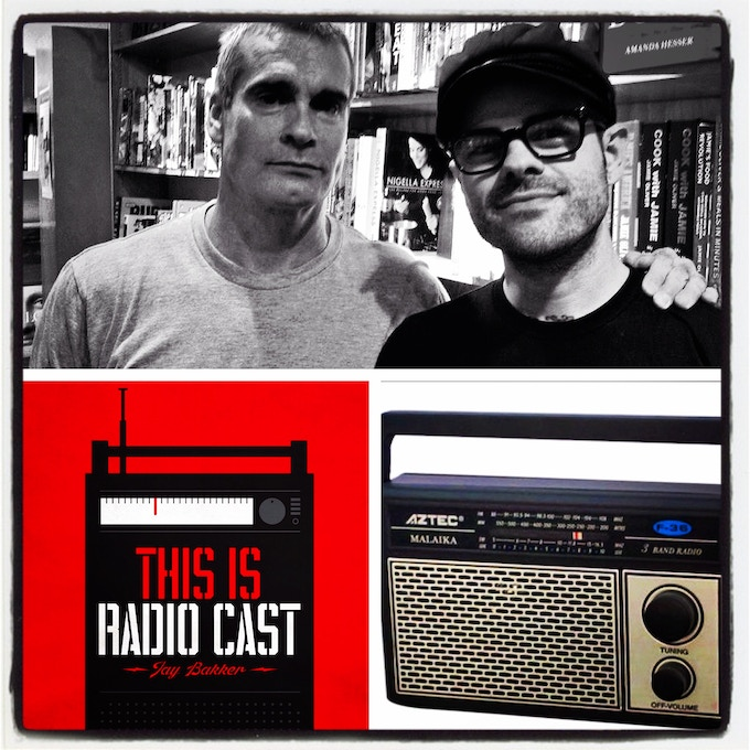 Our first guest: Punk rock pioneer Henry Rollins
