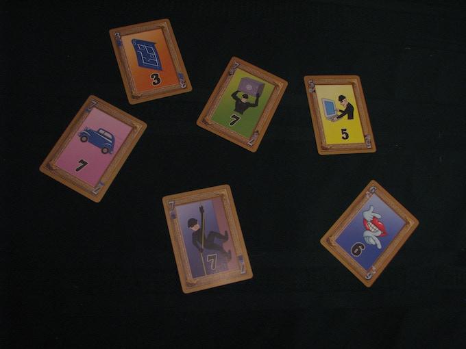 """SML """"Thief"""" card samples"""