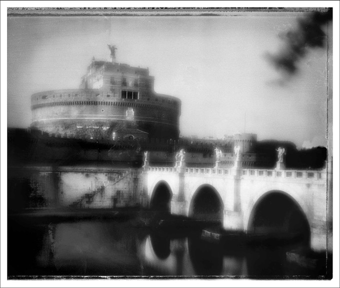 Ponte Sant' Angelo, by Tricia Rosenkilde. You could own this original platinum palladium print!