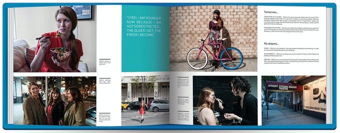 Pages 3 to 6 : Interview and Photographs