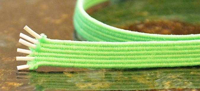 I really didn't have to learn much about the shoelace manufacturing process.  What I did have to do was test endless elasticity rates.  We wanted to make sure our product had perfect tension without losing it's strength over time.