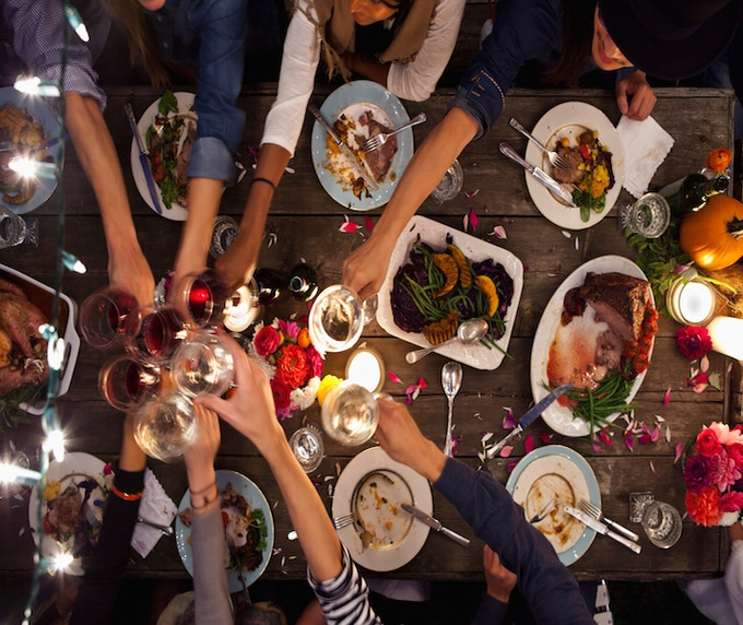 For $1200, Customize our dinner menu with your favorite foods + 1 Femme Beat dinner ticket