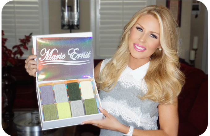 Look who LOVE's Marie Ernst™ Beauty Bars!