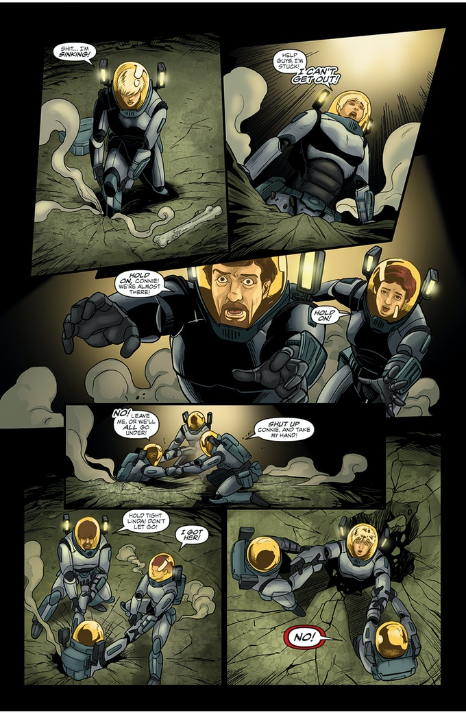 PAGE 9 FROM ISSUE #1