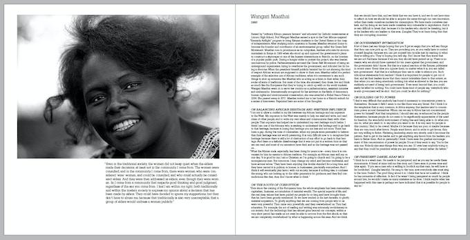 Prof. Wangari Maathai