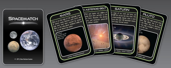 SpaceMatch: A science game that's easy to play!