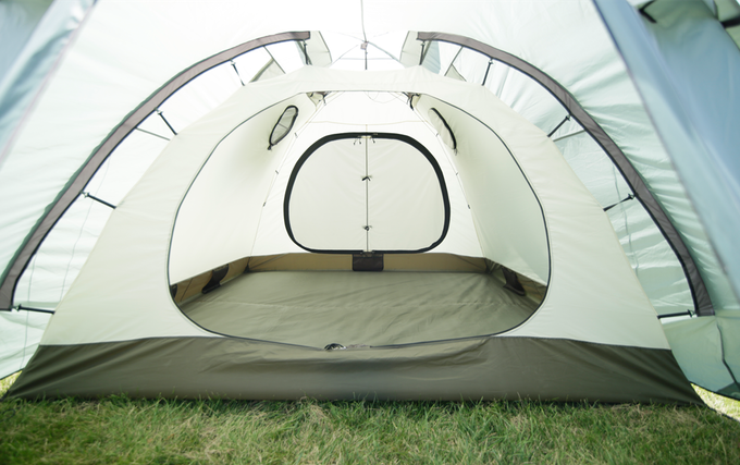Identical tent, but made with a regular polyester fly