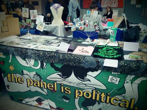 In addition to publishing, we also retail comics and promote critical analysis of comics as a vehicle for social change.