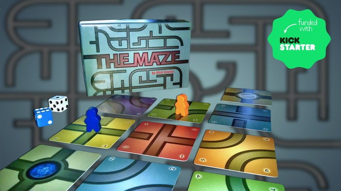 The Maze is a game that incorporates creation and fast paced gameplay for the entire family. No two games are the same, endless replay!