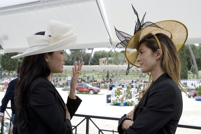 Longines VIP Lounge @ Piazza Di Siena HorseJumping event in Rome