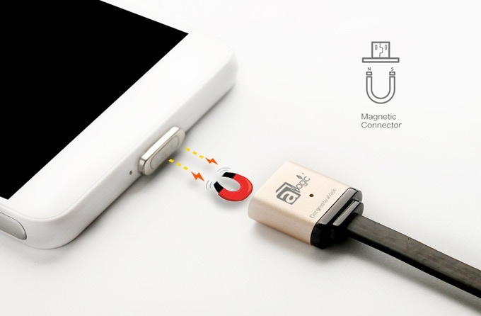 Magcable A Magnetic Cable That Changes Charging