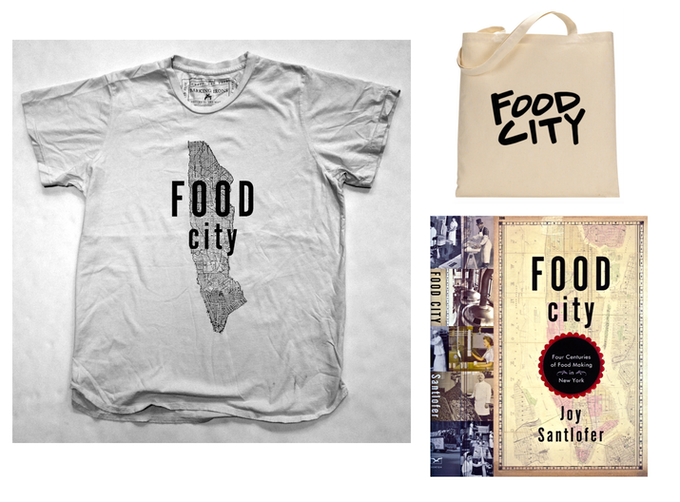 Barking Irons Food City tee, Food City tote, The Book!