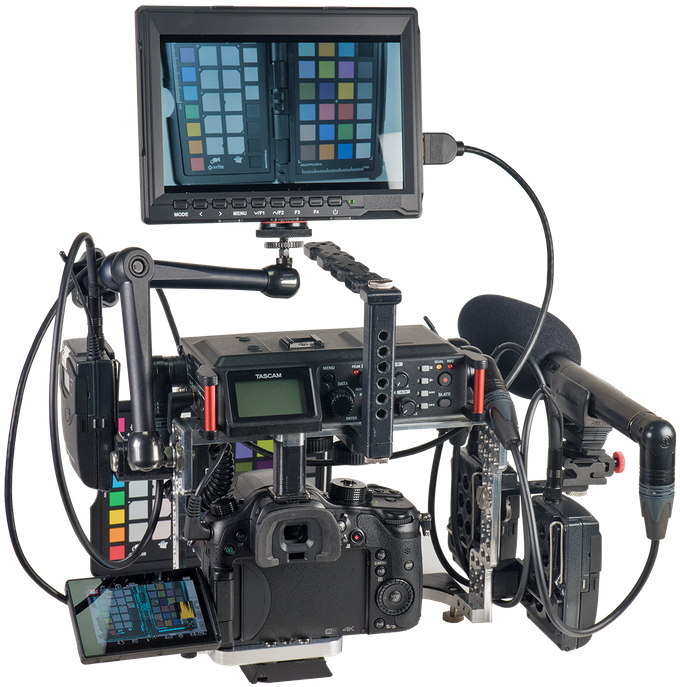 """Alternatively, there are plenty of options for mounting monitors and recorders with Israeli / mini-magic arms via 1/4"""" or 3/8"""" interface."""