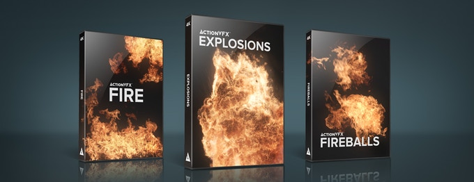 ActionVFX: Explosion and Fire Effects for your Movies by