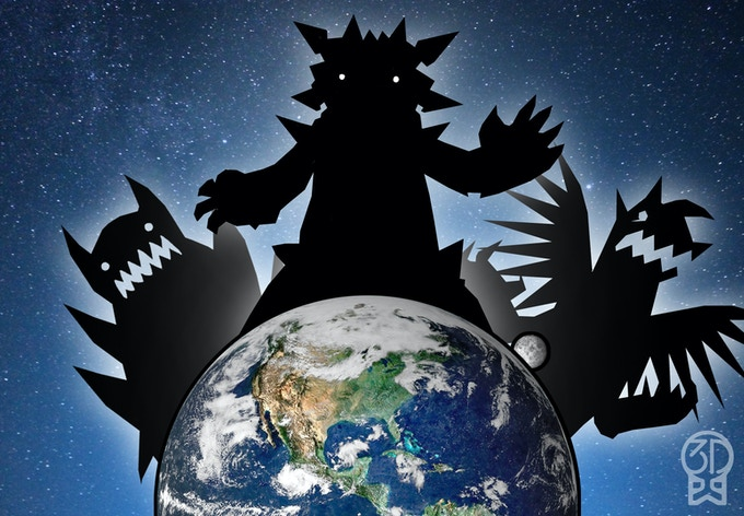 The evil monsters of Filamento are preparing for an invasion to claim technologies from here on Earth!