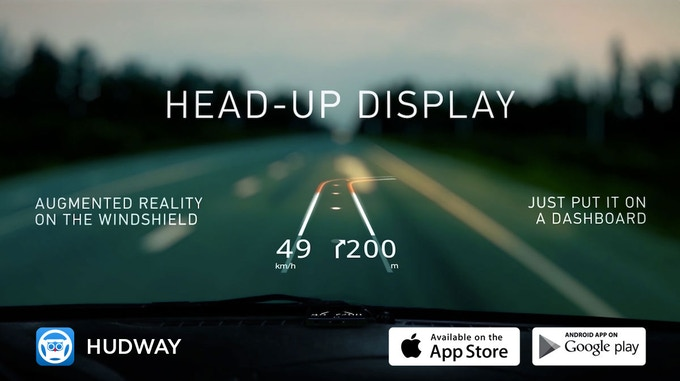 HUDWAY app was initially designed for use in low visibility conditions