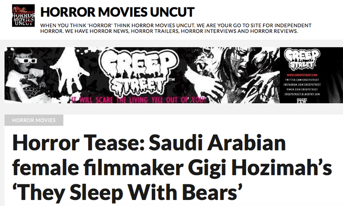 Press from Horror Movies Uncut