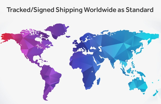 Fast, secure and reliable shipping as standard